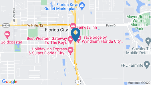 Travelodge by Wyndham Florida City/Homestead/Everglades Map