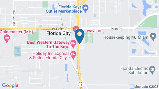 Quality Inn Florida City-Florida Keys Area Map