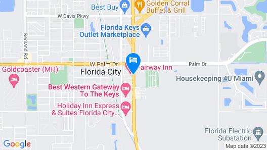 Fairway Inn Florida City / Homestead / Everglades Map