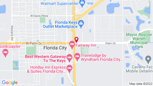 Days Inn by Wyndham Florida City Map