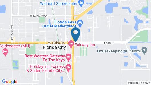 Days Inn by Wyndham Florida City Map