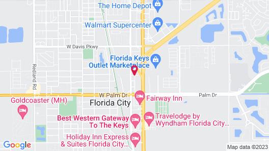 Home2 Suites by Hilton Florida City, FL Map