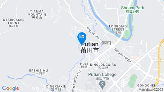 DoubleTree by Hilton Putian Map