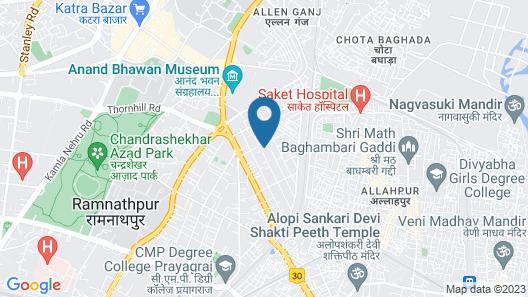 Hotel Placid Map