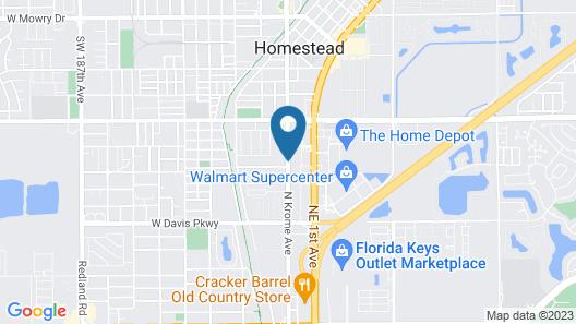 Super 8 By Wyndham Florida City/Homestead/Everglades Map