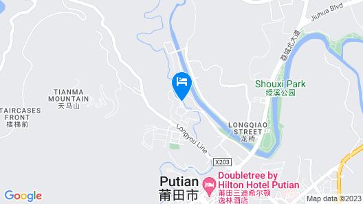 C&D Hotel Putian Map