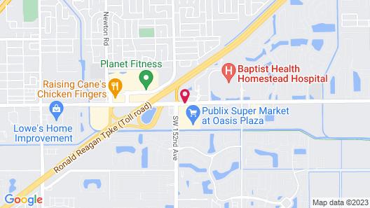 Hampton Inn & Suites Miami-South/Homestead Map