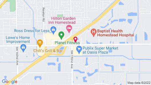 Courtyard by Marriott Miami Homestead Map
