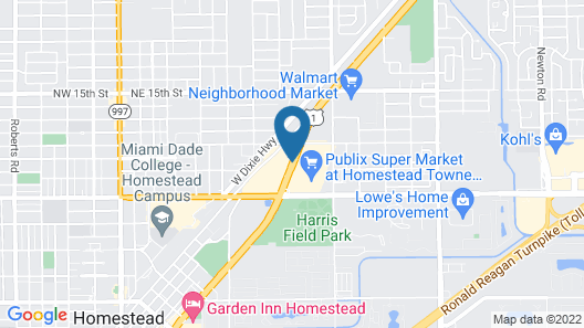 Floridian Hotel Map