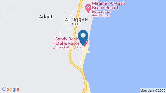 Sandy Beach Hotel and Resort Map