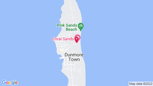 Coral Sands Hotel Map