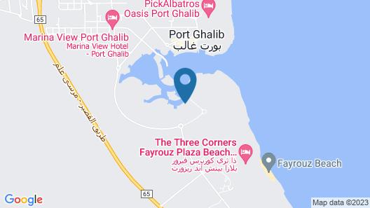 Port Ghalib Marina Residence Map