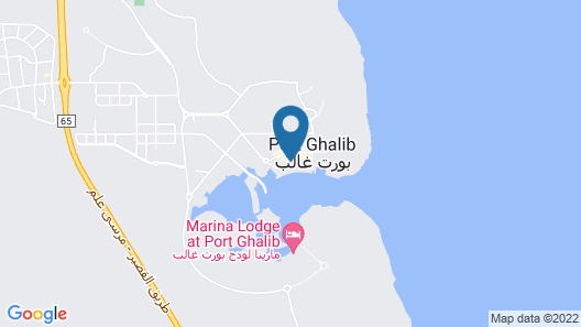 Marina Resort Port Ghalib Map