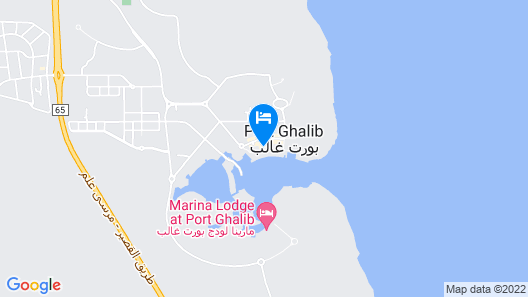 SUNRISE Marina Resort Port Ghalib Map
