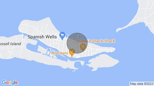 Hide 'N' Sea Spanish Wells Bahamas, Built 2015, Includes Golf Cart Kayak Board Map