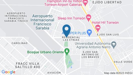 Hotel San Ignacio Inn Map