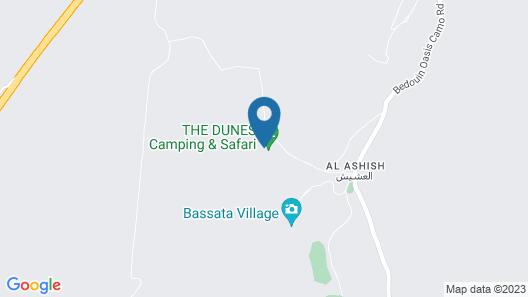 The Dunes Camping & Safari RAK Map