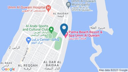Palma Beach Resort and Spa Map