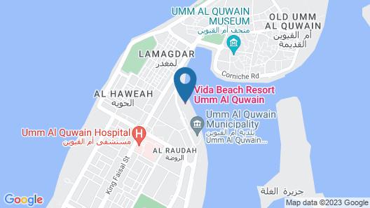 Vida Beach Resort Umm Al Quwain Map