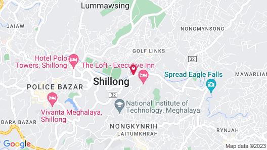 OYO 3616 Hotel Knight Inn Shillong Map