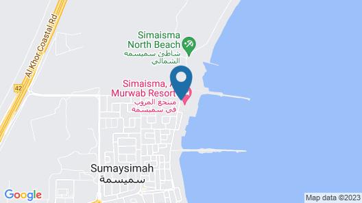 Simaisma, A Murwab Resort Map