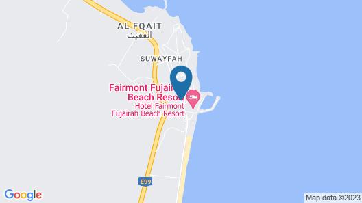 Fairmont Fujairah Beach Resort Map