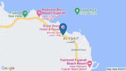 Royal Beach Hotel and Resort Map