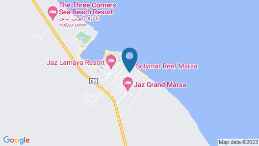 Solymar Reef Marsa Map
