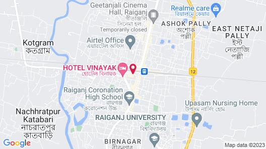 Hotel Gitanjali Raiganj Map