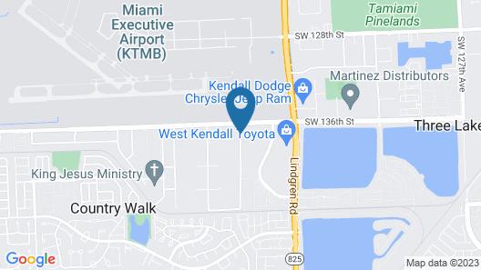 Best Western Plus Miami Executive Airport Hotel & Suites Map
