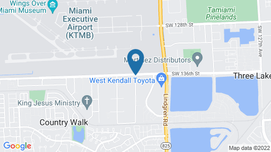 Candlewood Suites Miami Exec Airport - Kendall, an IHG Hotel Map