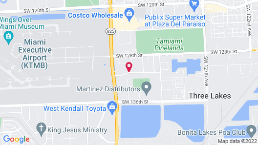 Holiday Inn Express & Suites Kendall, an IHG Hotel Map