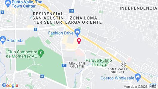 Quinta Real Monterrey Map