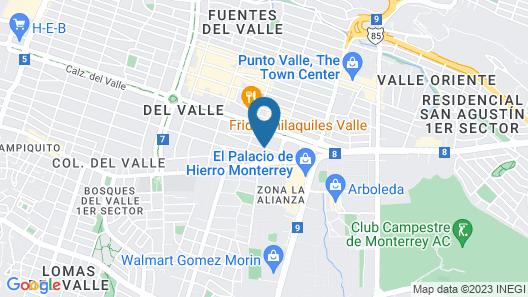 Antaris Valle Map