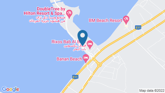 City Stay Beach Hotel Apartments Map