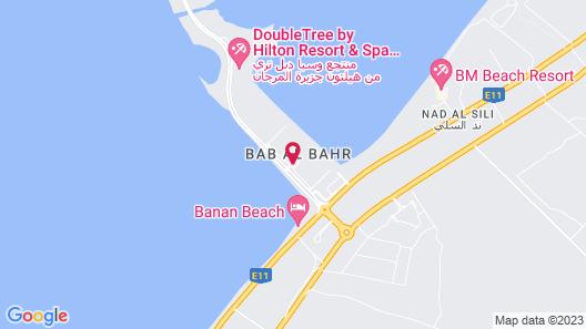 Rixos Bab Al Bahr - All Inclusive Map