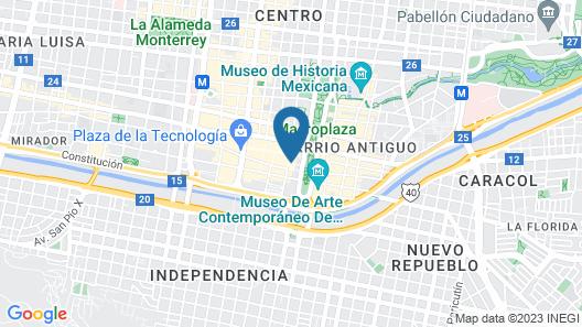 Krystal Monterrey Map