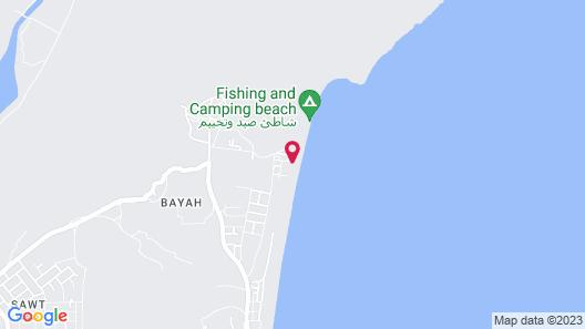 Dibba Beach Resort Map