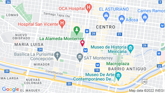 Safi Royal Luxury Centro Map