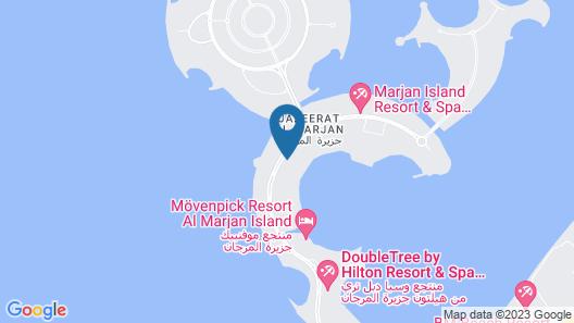 Hampton by Hilton Marjan Island Map