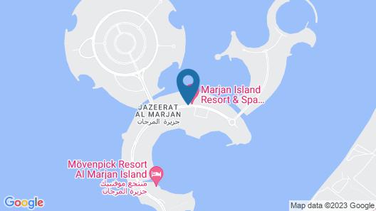 Marjan Island Resort & Spa Managed by ACCOR Map
