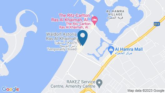 Waldorf Astoria Ras Al Khaimah Map