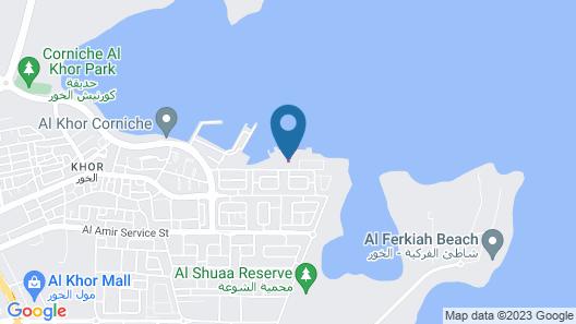 Al Sultan Beach Resort Map