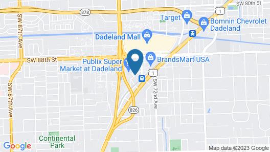 Courtyard by Marriott Miami Dadeland Map