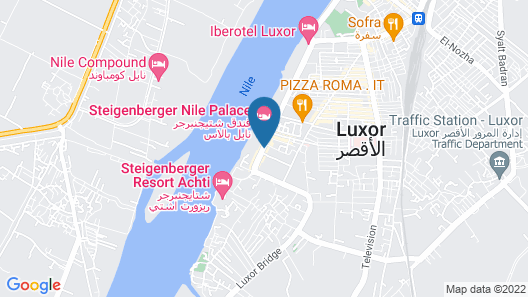 Pyramisa Hotel Luxor Map