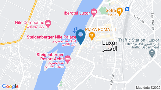 Steigenberger Legacy Nile Cruise Map