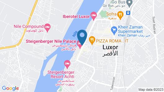 Sonesta St George Hotel Luxor Map