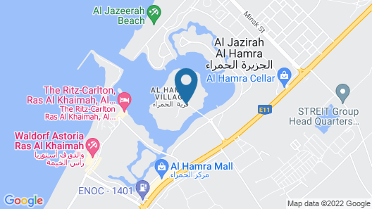 Al Hamra Residence & Village Map