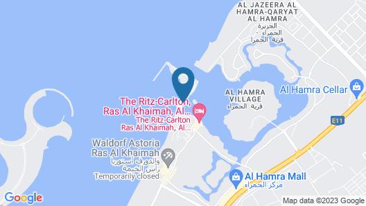 Al Wadi Ras Al Khaimah Beach Map