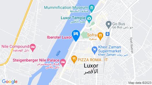 Iberotel Luxor Map
